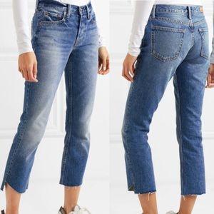 GRLFRND Tatum Low Rise Cropped Jeans